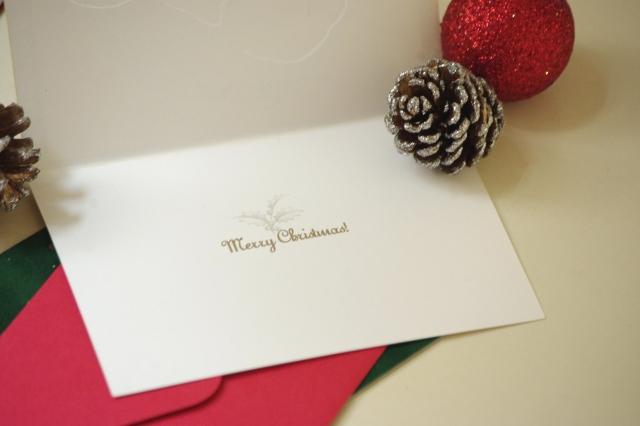 クリスマスカードのメッセージ内容は?ビジネス上の相手に送る場合