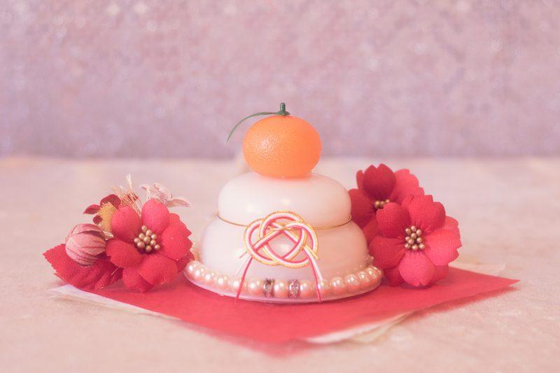 鏡餅は二段と三段どっちが正しい?橙とみかんどっちをのせるの?