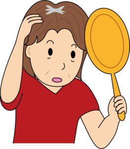 中高年の頭皮のかゆみは白髪が原因!?白髪とかゆみの関係と対策法!