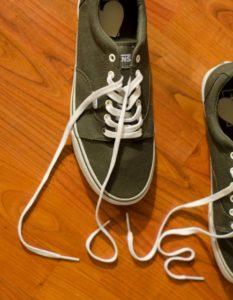 靴紐長い対処法